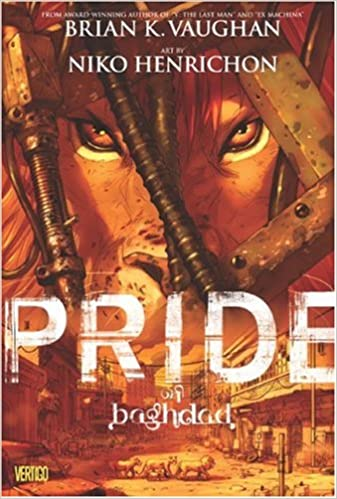 Image result for pride of baghdad book cover