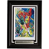 Leroy Neiman Framed 10x14 Larry Bird vs Magic Johnson Basketball Print