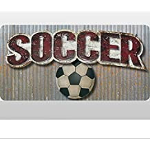 Soccer Ball Sports Quote Removable Vinyl Wall Sticker Graphics Saying Decals Children Kid Nursery Sport Room Decor Baby Stickers Boys Bedroom Decorations Child Quotes Kids Mural Walls Sayings Balls