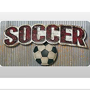 Amazon.com: Soccer Ball Sports Quote Removable Vinyl Wall ...