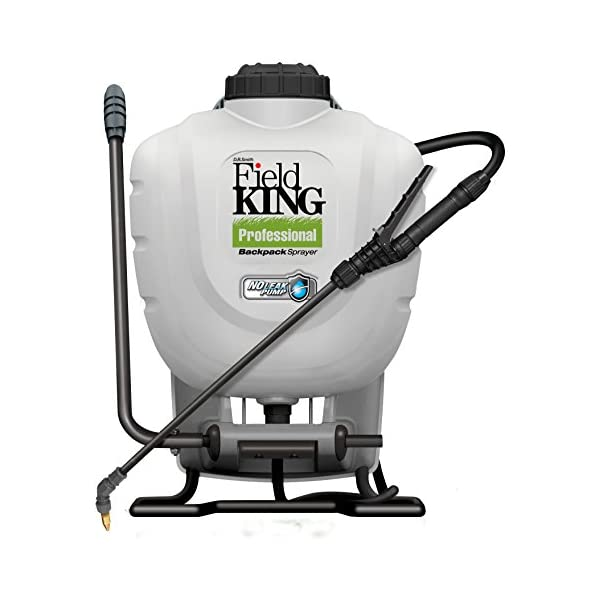 D.B. Smith Field King Professional 190328 No Leak Pump Backpack Sprayer for Killing Weeds in Lawns and Gardens