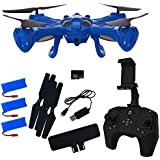 Hover-Way Alpha PRO with HD 720P CAMERA + LIVE VIEW via Controller - Blue