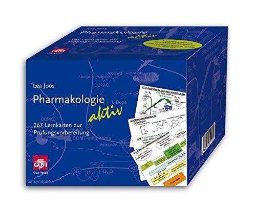 Pharmakologie aktiv: 267 Lernkarten zur Prüfungsvorbereitung