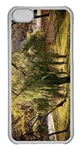 Customized iphone 5C PC Transparent Case - Tree 31 Personalized Cover