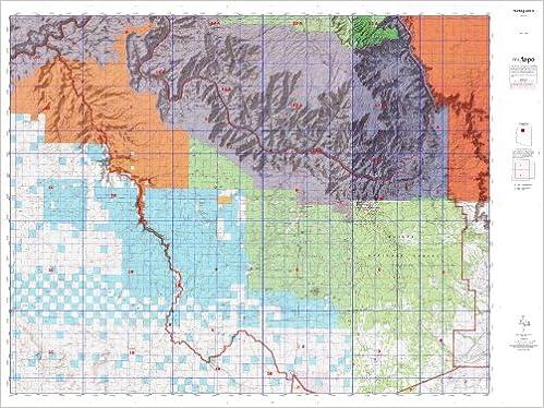 Hunting Unit 9 Western State Hunt Area Maps Az 9 Mytopo Amazon