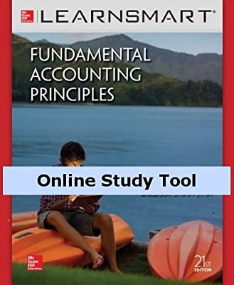 LearnSmart for Fundamental Accounting Principles