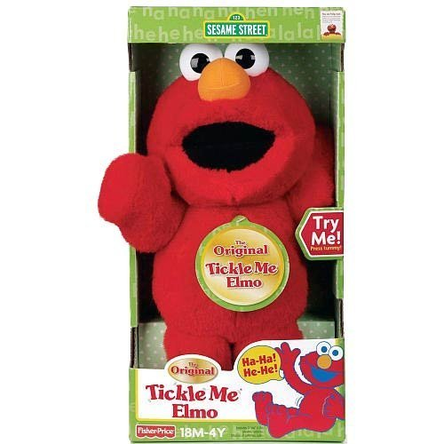 The Original Tickle Me Elmo by Sesame - Me Elmo