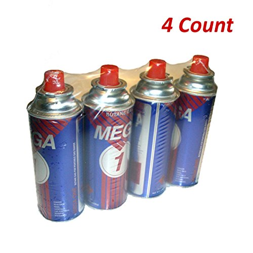 - Uniware Butanel Fuel Canisters for Portable Camping Stoves (4 Pack)
