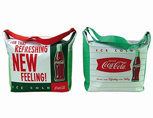 IPV 523570 Retro Coca Cola Kühltasche 14 Liter, farblich Sortiert