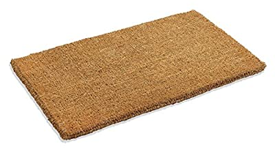 """Kempf Natural Coco Coir Doormat Low Clearance 1"""" Thick"""