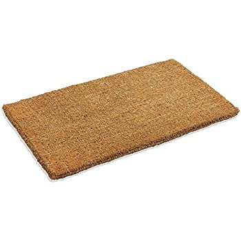 Kempf half round dragon coco coir doormat 18 for Door mats amazon