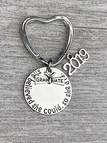 Infinity Collection Graduation Keychain, Graduation Gift, for Graduates, 2019 Edition