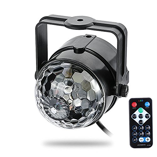 StarLight Mini Light Show Projector with Moving, Multi-Color stage Lights (With Remote) (Snow Machine Mini compare prices)