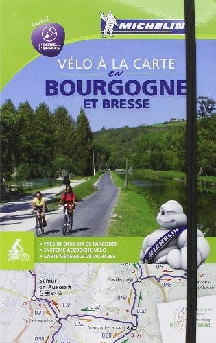Velo la carte en Bourgogne et Bresse: Cycling Map (Anglais) Couverture à spirales – 22 mai 2014 Michelin Michelin Editions des Voyages 2067192337 France