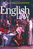 English Law, Gary Slapper and David Kelly, 1859418988