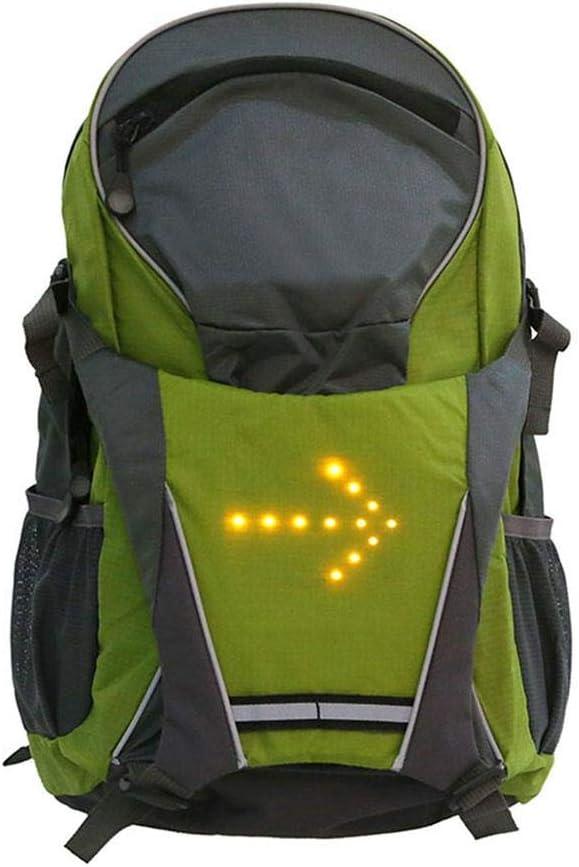 LED Clignotant pour V/élo T/él/écommande sans Fil Haute Visibilit/é Rechargeable Sac /À Dos R/éfl/échissant LED L/éger pour Le Cyclisme//la Randonn Renoble Sac /À Dos /À V/élo avec LED