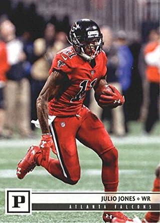e5524e94 Amazon.com: 2018 Panini #16 Julio Jones Falcons NFL Football Card NM ...