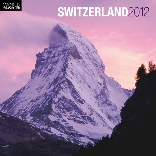 book cover - Switzerland 2012 Square 12x12 Wall Calendar (World Traveller) (Multili... - BrownTrout Publishers Inc