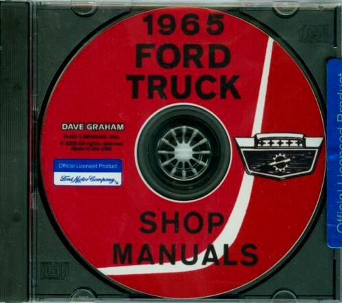 FULLY ILLUSTRATED 1965 FORD TRUCK, BRONC0 & PICKUP REPAIR SHOP & SERVICE MANUAL CD For Light, Medium, Heavy, Extra-Heavy Duty, Super Duty Truck, Conventional, Tilt Cab, Tandem Axles, Bus, Parcel Delivery