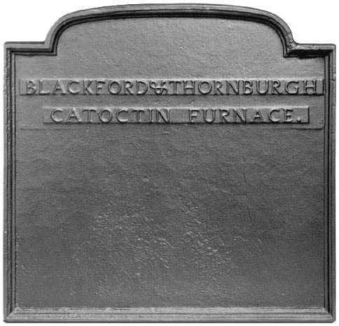 22.625 x 21.75 Catoctin Furnace Fireback