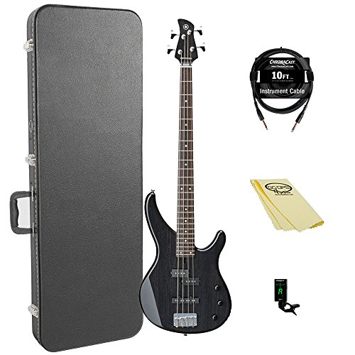Yamaha TRBX174EW TBL 4-String Bass Guitar Pack
