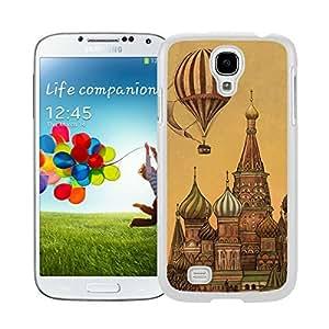 Coolest White S4 Case Classic Top Art Design Watercolor Samsung Galaxy S4 I9500 Case White Cover