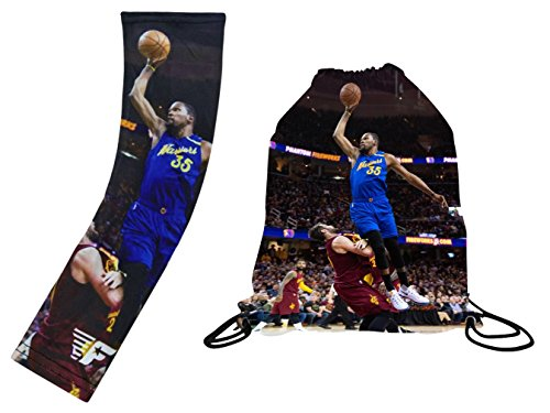 - Forever Fanatics Golden State Durant #35 Basketball Fan Gift Set ✓ Durant #35 Picture Backpack & Matching Compression Shooter Picture Arm Sleeve (Youth Size (6-13 Years), Durant #35 Gift Set)