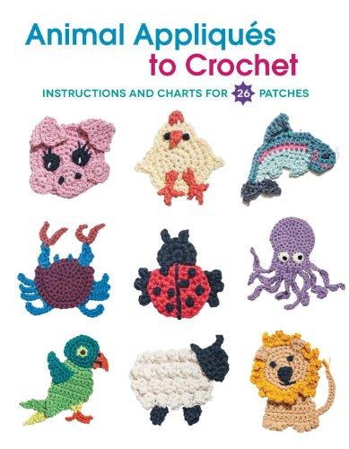 Animal Appliques to Crochet