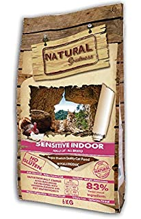 Natural Greatness Sensitive Indoor Alimento Seco Completo ...