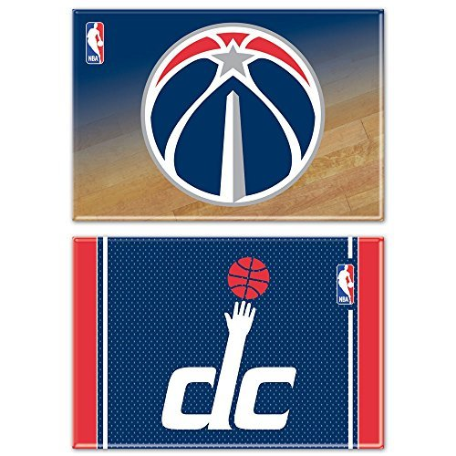 Wincraft NBA Washington Wizards WCR06310012 Rectangle Magnet (2 Pack), 2