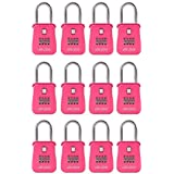 Lion Locks 1500 Key Storage Realtor Lock Box with Set-Your-Own Combination, (, Pink) by Lion Locks