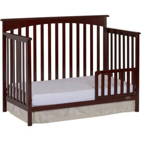 Dream On Me Davenport 5-in-1 Convertible Crib (Java)