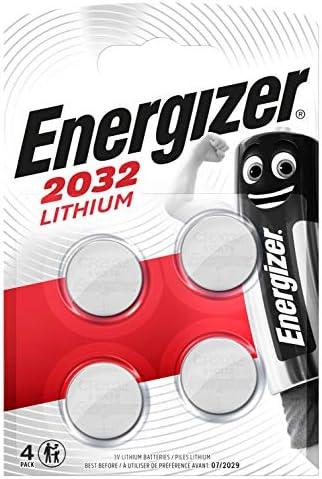 Energizer Cr2032 Batterien Lithium Knopfzelle 4 Elektronik