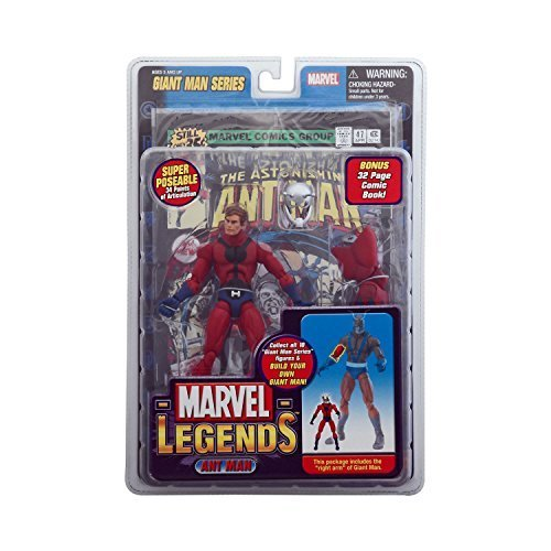 ant man Marvel Legends Exclusive Series Action Figure with Giant Man Builder Piece