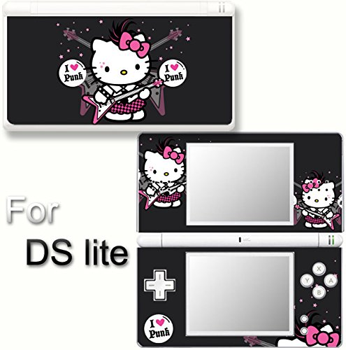 - Hello Kitty Punk Cute SKIN DECAL VINYL STICKER COVER for Nintendo DS Lite