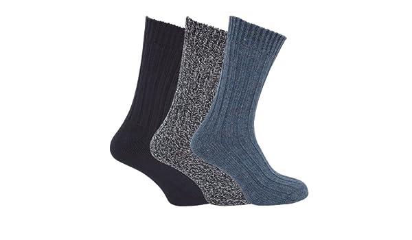 Calcetines termicos super gordos para hombre/caballero - Pack de 6 pares de calcetines: Amazon.es: Ropa y accesorios
