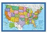 Classic United States USA and World Desk