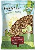 Organic Buckwheat Kasha by Food to Live (Grechka, Toasted Whole Groats, Non-GMO, Kosher, Bulk) — 5 Pounds