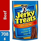 Jerky Treats Beef Dog Snacks 708 Grams