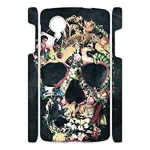 Abstractionism Skull Custom Case for Google Nexus 5