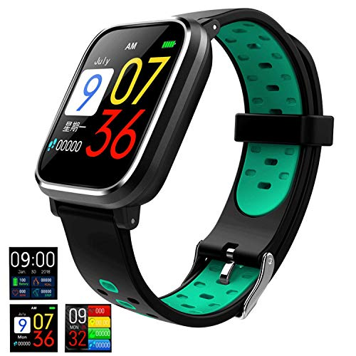 Good voice Fitness Tracker Smartwatch with All-Day Heart Rate, IP67 Waterproof Activity Tracker Watch with Sleep Calorie…
