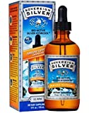 Sovereign Silver Bio-Active Silver Hydrosol for Immune Support - 10 ppm, 4oz (118mL) - Dropper (FFP)