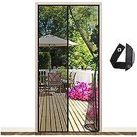 EGNBU Magnetisch vliegengaas, deur, magnetisch gordijn, vliegengordijn, muggennet voor balkondeur, kelderdeur en…