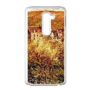 Oil painting countryside scenery Phone Case for LG G2
