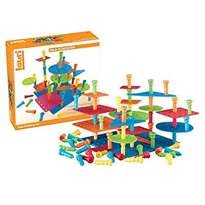 Lauri Tall-Stackers - Pegs Building Set: Industrial & Scientific