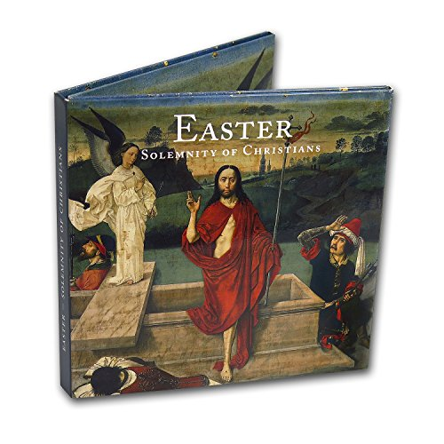 IT 1 Vatican City 2-Coin + Stamp Easter Collection Brilliant Uncirculated