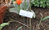 GardenMate 25-Pack Weatherproof Large Metal Plant