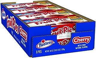 Hostess Fruit Pies, Cherry, 4 5 Ounce, 8 Count (B00QJGW1OC