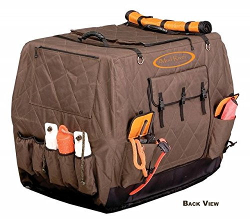 Mud River Dixie Kennel Cover, Brown, X-Large