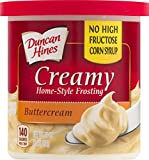 Duncan Hines Creamy Home-Style Frosting Buttercream, 16 Ounce